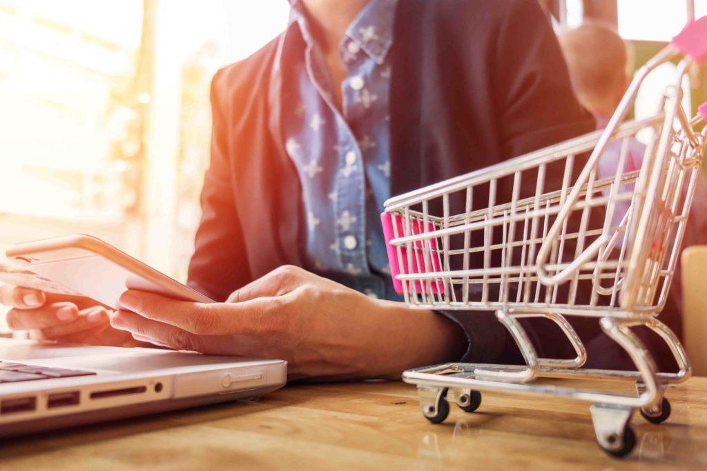 Site de vente en ligne marketing digital - Delphine Penguilly